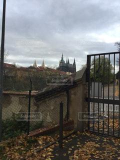 プラハ城までの写真・画像素材[844023]