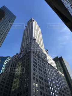 ニューヨークのクライスラービルの写真・画像素材[1002487]