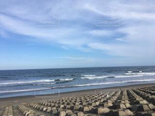 三沢の海の写真・画像素材[1454527]