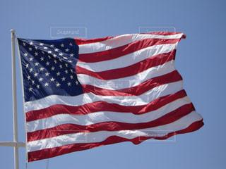 アメリカ国旗の写真・画像素材[848337]
