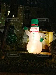 クリスマスの町並みの写真・画像素材[874318]