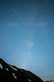 流れ星の写真・画像素材[844841]