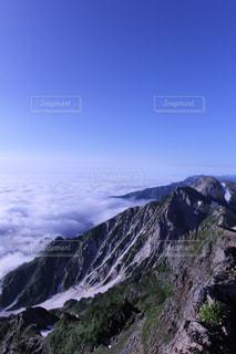 後立山連峰の写真・画像素材[852605]