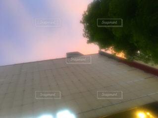 電車のぼやけた写真の写真・画像素材[845266]