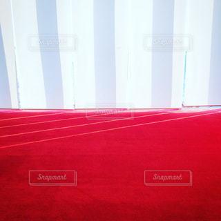 赤い絨毯と白いカーテン - No.1014199
