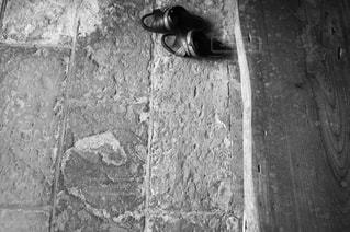 モノクロの玄関。の写真・画像素材[847582]
