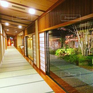 旅館の廊下。の写真・画像素材[847608]