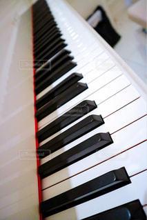 ピアノの鍵盤の写真・画像素材[863719]