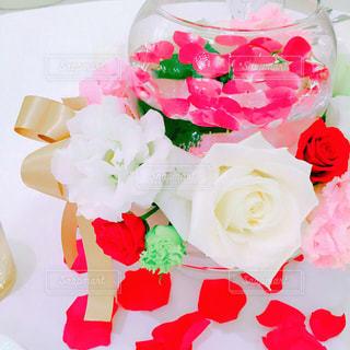 近くの花のアップの写真・画像素材[863751]