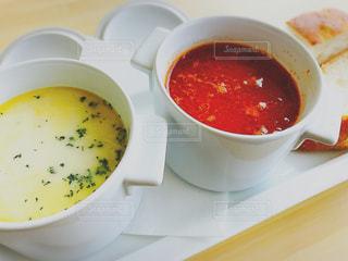 スープのボウルの写真・画像素材[865412]