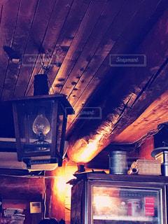 近くに火のオーブンのアップの写真・画像素材[871859]