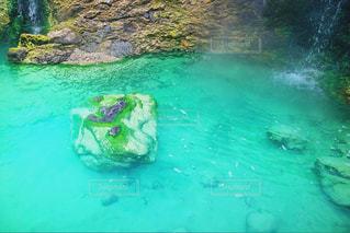 水の大きなプールの写真・画像素材[901136]