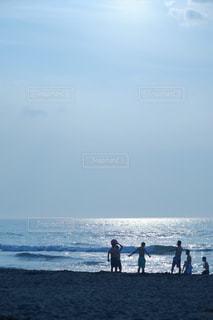 ビーチの人々の写真・画像素材[846041]