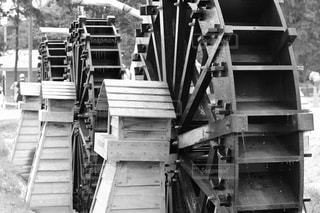 水車の写真・画像素材[846047]