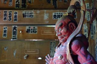 鎌倉の寺院の像の写真・画像素材[846135]