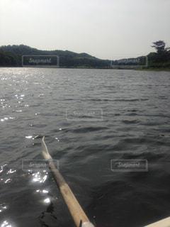 湖 ボートの写真・画像素材[846183]