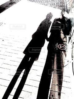 通りを歩く人々 のグループの写真・画像素材[848539]