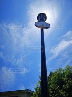 青空と時計塔の写真・画像素材[2173020]