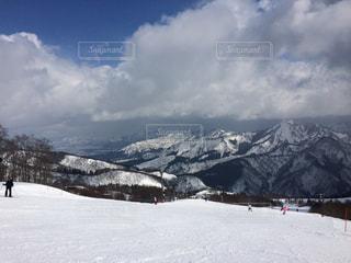 雪に覆われた山々 - No.847093