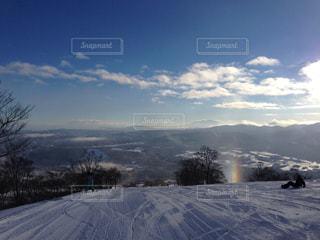 冬のレインボーの写真・画像素材[849769]