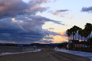 侵食する雲の写真・画像素材[847804]