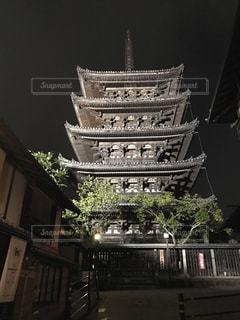 夜の京都  清水寺周辺の写真・画像素材[848372]