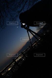 夜景撮影の写真・画像素材[970104]