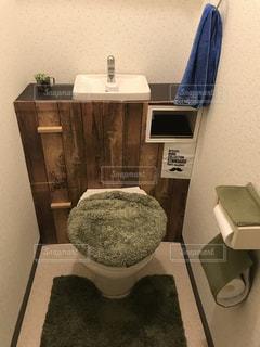 タンクレス風トイレの写真・画像素材[1516046]