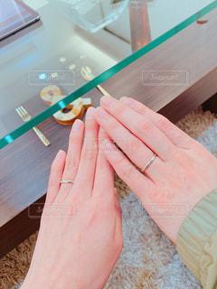 結婚指輪の写真・画像素材[1813779]