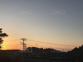 夕焼けの写真・画像素材[848973]