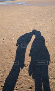近くの砂浜のビーチの写真・画像素材[847958]
