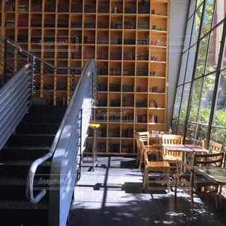 シアトルのとあるカフェの写真・画像素材[850461]