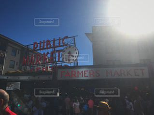 シアトルの優雅な昼の写真・画像素材[865437]