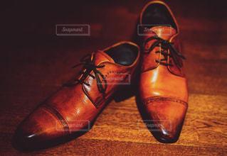 本革 イタリア製革靴の写真・画像素材[1151413]
