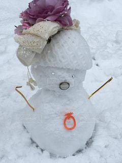 可愛い雪だるま - No.850084