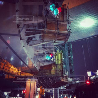 街の通りに信号機の写真・画像素材[849858]