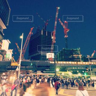 大都市の人々 のグループの写真・画像素材[849861]