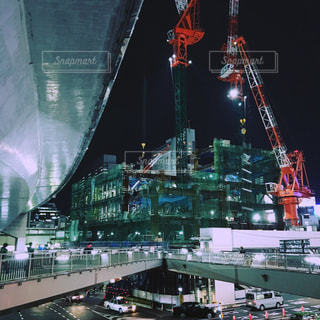 渋谷の工事現場の写真・画像素材[849882]