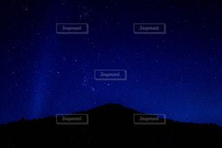 冬の空に瞬く星たち - No.882887