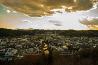 高いところから眺めた街の風景 - No.904960