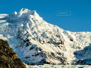 雪の覆われた山々 の景色 - No.914063