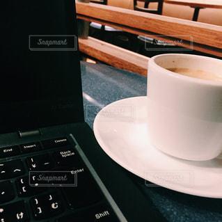 コーヒー片手に♪の写真・画像素材[871937]