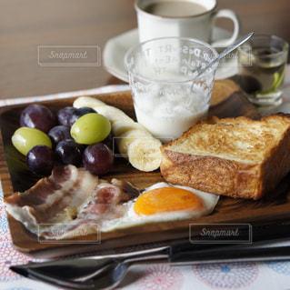 ワンプレート朝食の写真・画像素材[1436184]