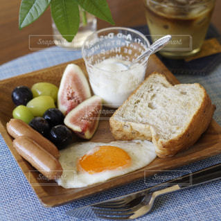 ワンプレート朝食の写真・画像素材[1436186]