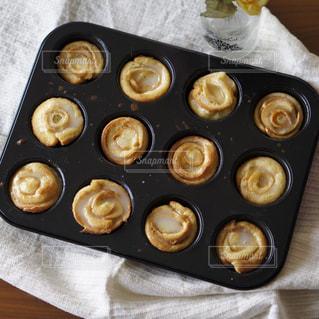 ぐるぐるフレンチトーストの写真・画像素材[1534077]