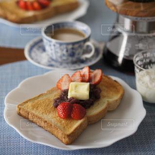 あんバタートーストの写真・画像素材[1809525]