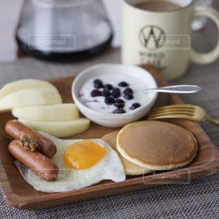 パンケーキの朝食の写真・画像素材[1850417]