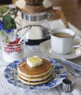 パンケーキの朝食の写真・画像素材[2094777]
