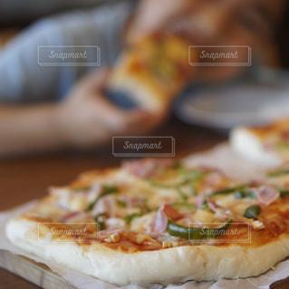 手作りピザの写真・画像素材[2258883]