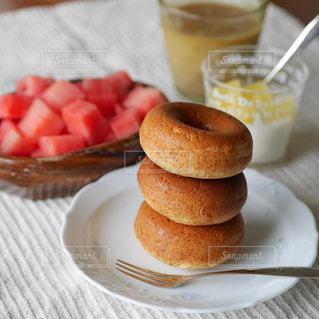 焼きドーナツの写真・画像素材[2310980]